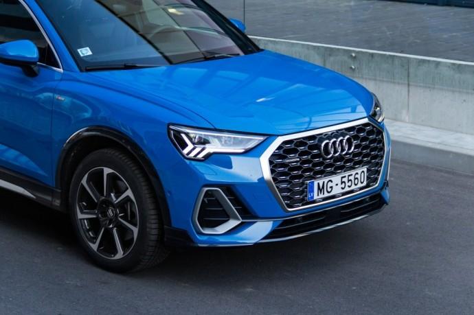 Audi Q3 Sportback testas