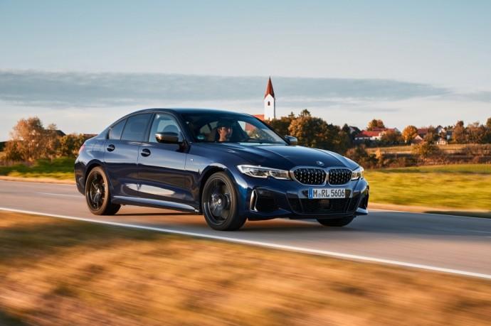 Dyzelinį variklį turintis BMW M340d xDrive sedanas