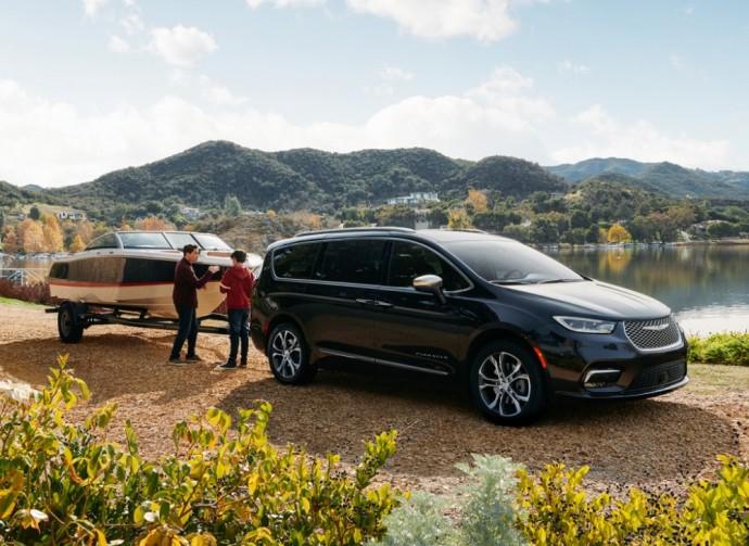 Atnaujntas Chrysler Pacifica vienatūris