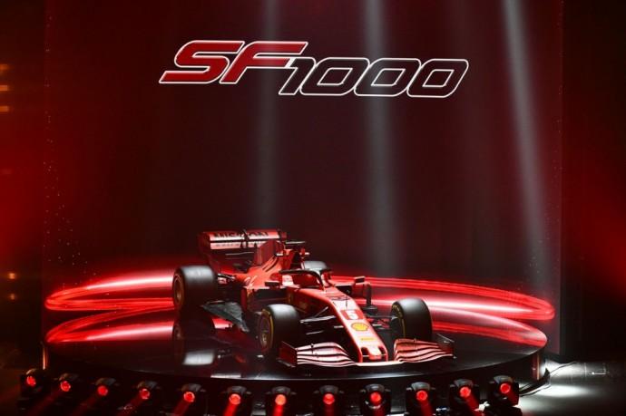 2020-ųjų sezonui paruoštas Ferrari SF1000
