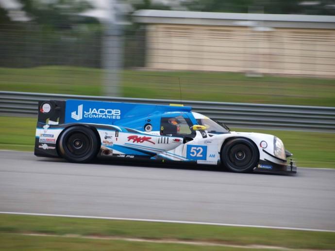 Gustas Grinbergas už LMP2 bolido vairo