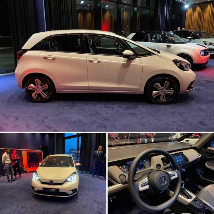 Naujos kartos Honda Jazz hibridas