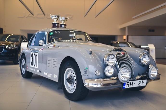 Karoliui Raišiui priklausantis Jaguar XK150