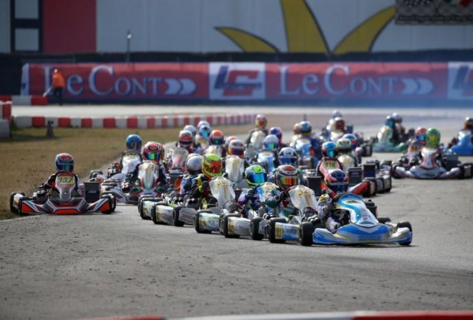 """Italijos """"South Garda"""" lenktynių trasoje vykusios lenktynės"""