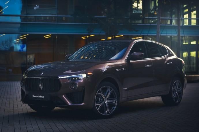 Maserati Levante Ermenegildo Zegna