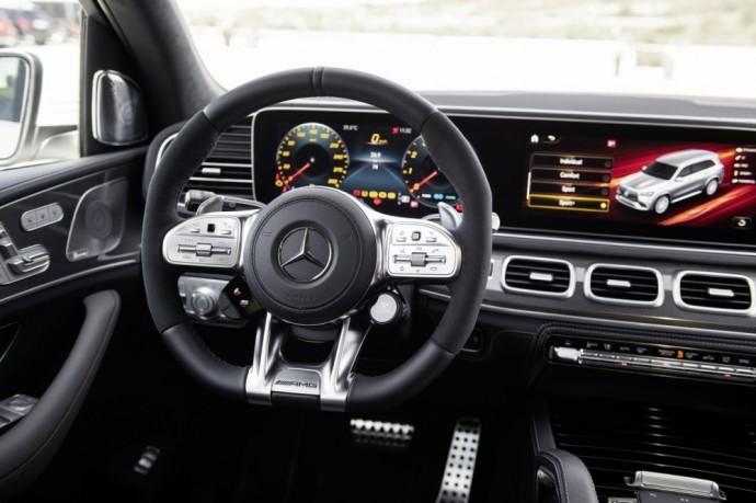 Sportiškas Mercedes-AMG GLS 63 4MATIC+ visureigis