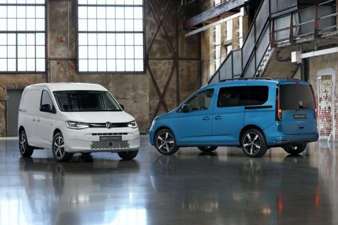 Naujos kartos Volkswagen Caddy furgonas