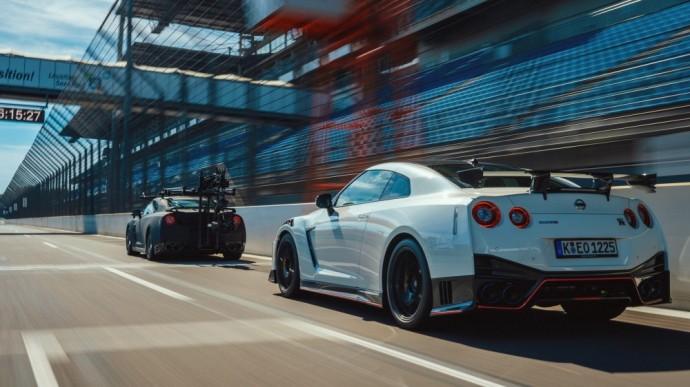 Filmavimo reikmėms pritaikytas Nissan GT-R
