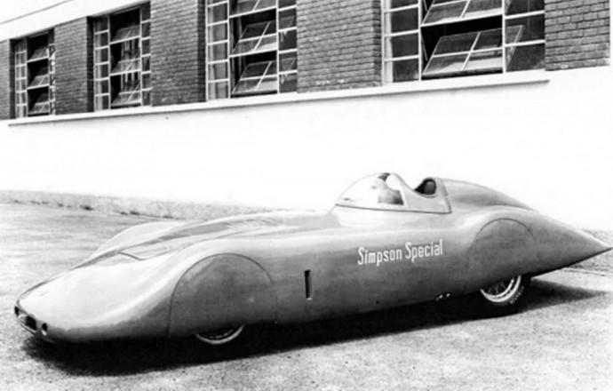 1954 Osca MT4 Simpson Special 1500cc Streamliner
