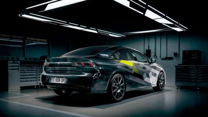 Serijinis Peugeot 508 Peugeot Sport Engineering