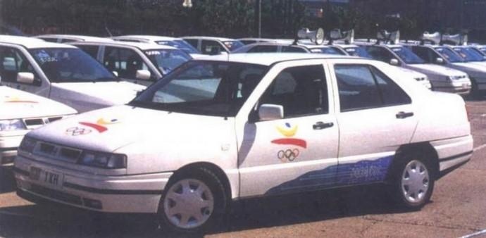 Elektrinis Seat Toledo Eléctrico Olímpico