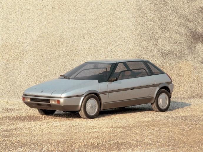 Italdesign sukurta Renault Gabbiano