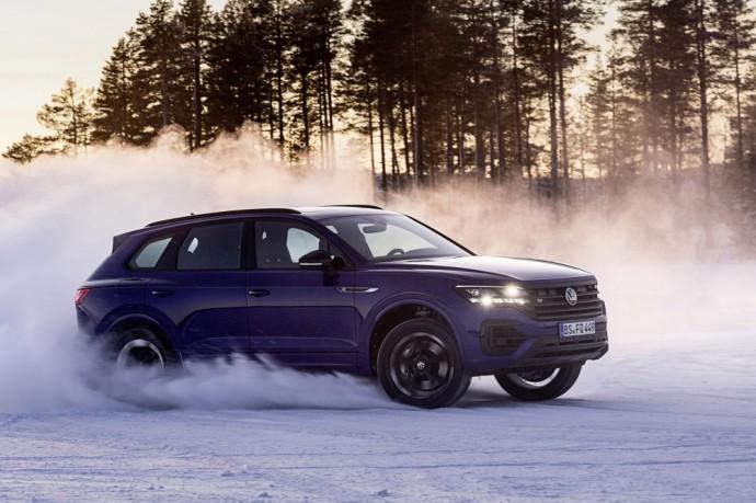 Naujasis Volkswagen Touareg R