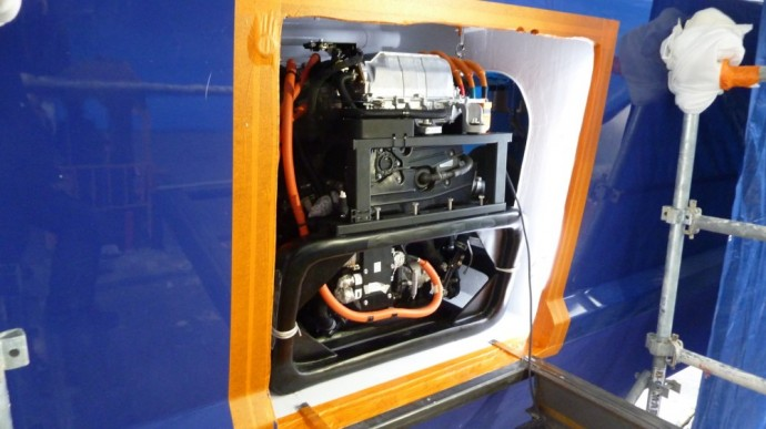 Toyota Fuel Cell System modulis Energy Observer laive
