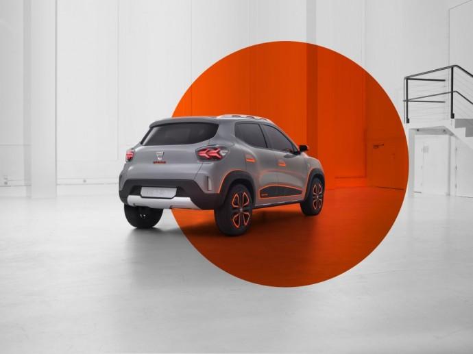 Elektrinio Dacia koncepcija