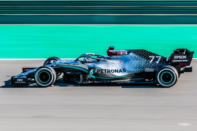 Mercedes-AMG Petronas F1 Team W11, #77 Valtteri Bottas