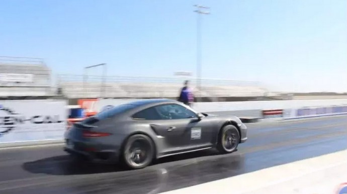 Drago lenktynėms paruošta Porsche 911