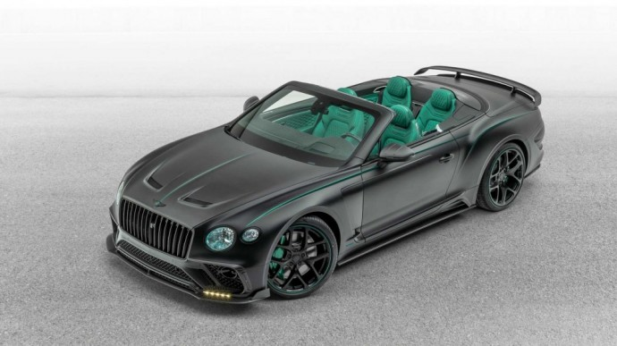 Modifikuotas Bentley Continental
