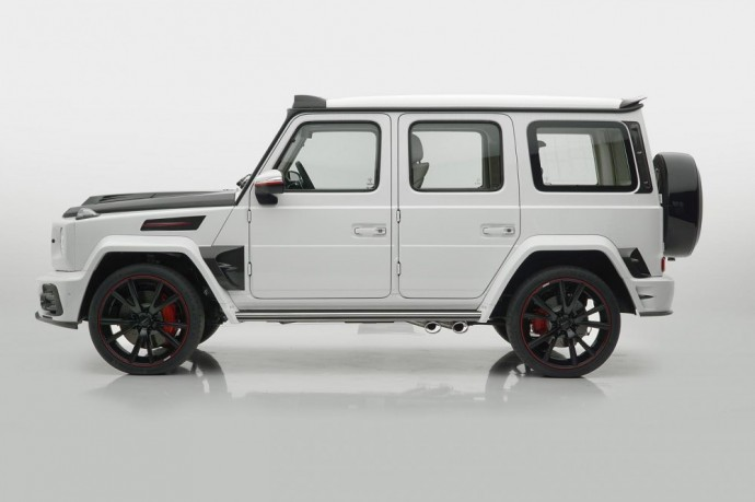 Mercedes-Benz G63 AMG visureigis