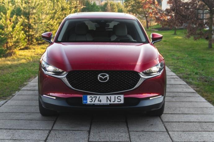 Mazda CX-30 SUV testas