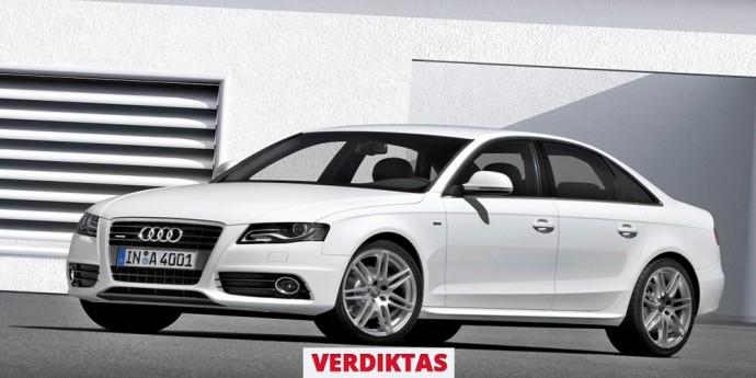 Atsiliepimas apie Audi A4 (B8 kartos)