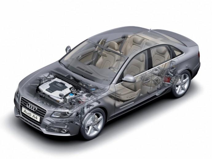 Audi A4 3.2 FSI Quattro S-Line