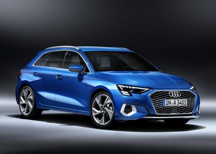 Naujos kartos Audi A3 Sportback