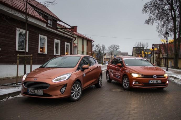 Ford Fiesta prieš Volkswagen Polo