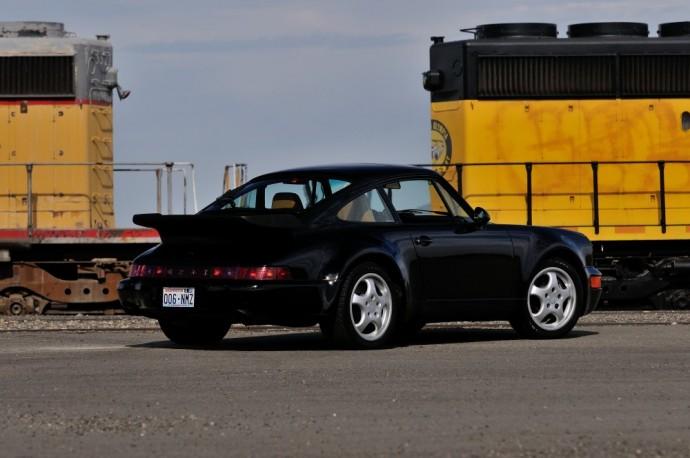 Antros kartos Porsche 911 Turbo S