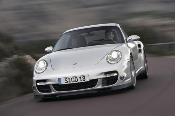 Penktos kartos Porsche 911 Turbo Coupe 3.6