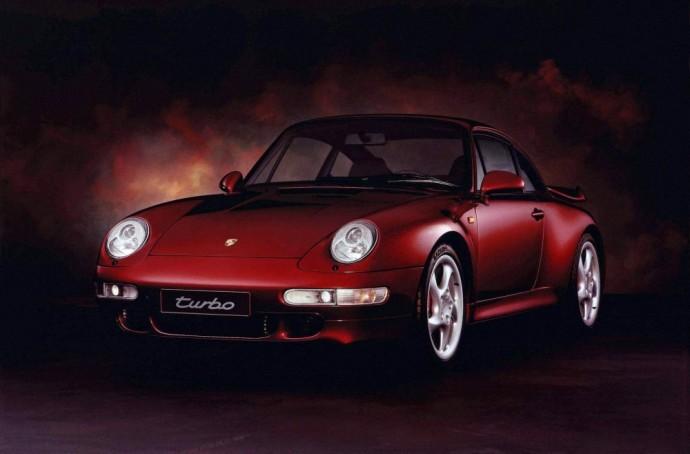 Trečios kartos Porsche 911 Turbo 3.6