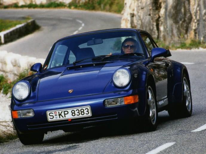 Antros kartos Porsche 911 Turbo 3.3