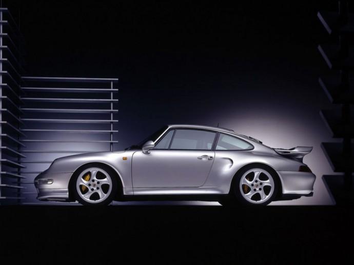 Trečios kartos Porsche 911 Turbo S 3.6