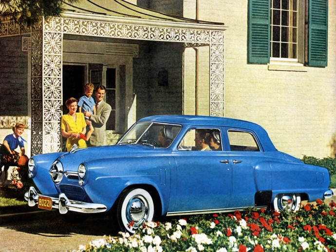 Fredžiui Merkuriui priklausęs Studebaker Champion Regal DeLuxe 4-door Sedan