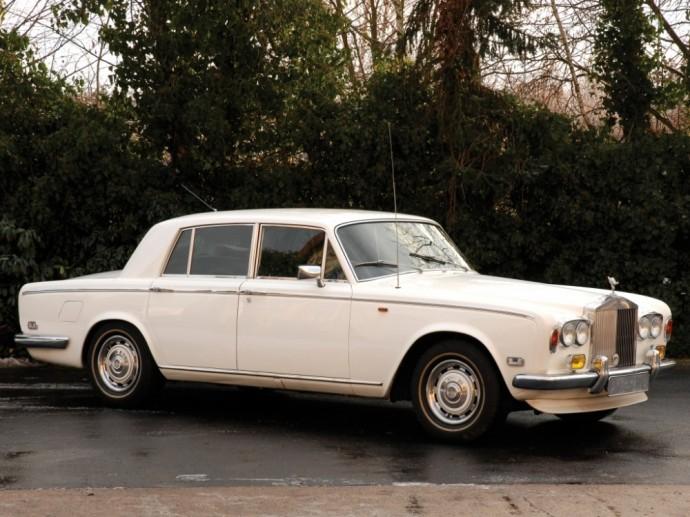Fredžiui Merkuriui priklausęs Rolls-Royce Silver Shadow