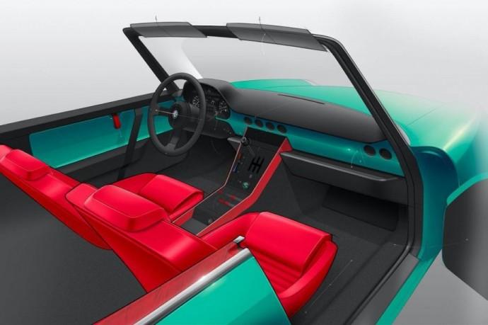 Garage Italia Customs suprojektuotas Alfa Romeo Spider