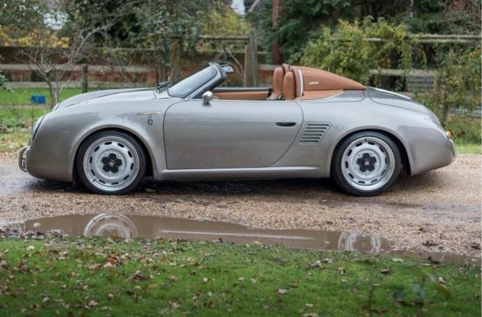 Iš Porsche Boxster į Iconic Autobody 387 virtęs kabrioletas