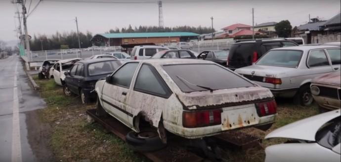 Japoniškų automobilių sąvartynas