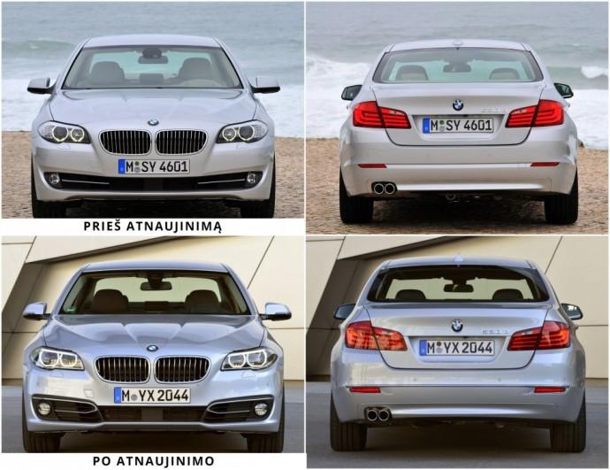 F10 kartos 5 serijos BMW apžvalga
