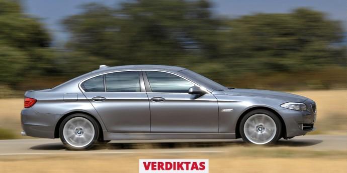 Naudoto 5 serijos BMW apžvalga