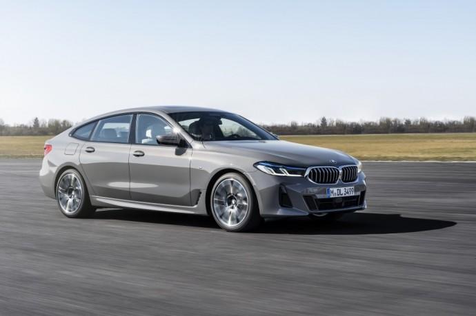 Atnaujinta BMW 6 serijos Gran Turismo