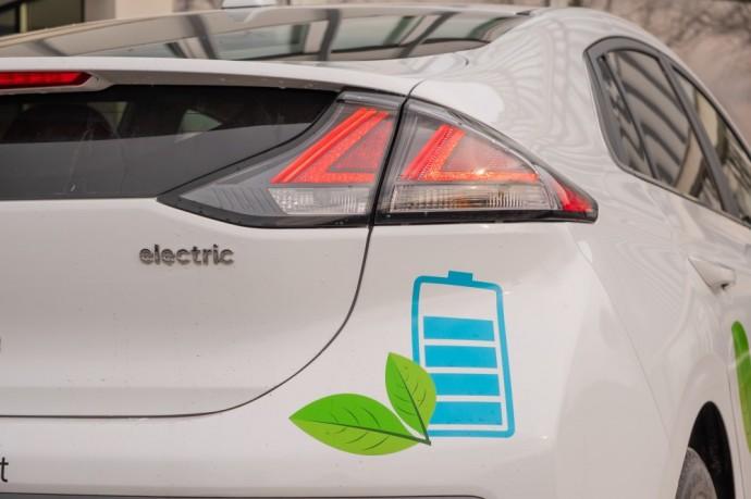 Elektrinis Hyundai Ioniq