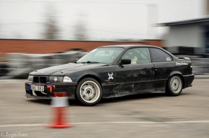 Kristianos pirmasis driftui skirtas BMW