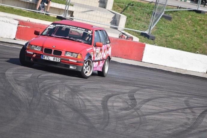 Varžyboms paruoštas Kristianos BMW