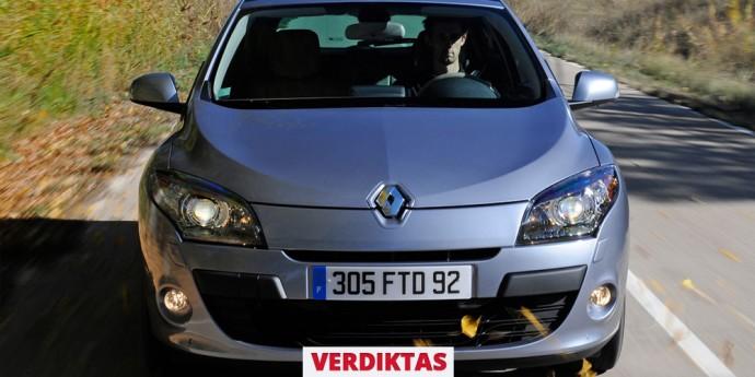 Naudotos Renault Megane apžvalga