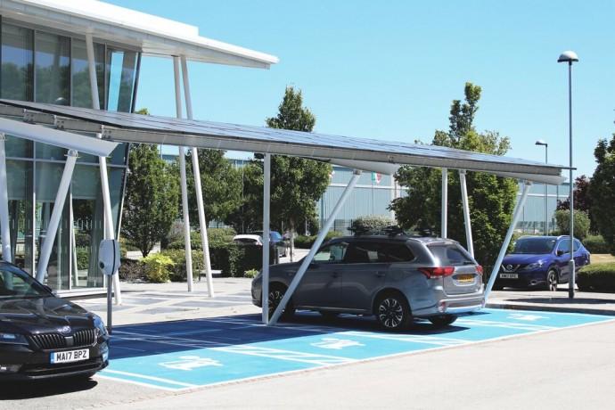 Saulės energija elektromobiliams