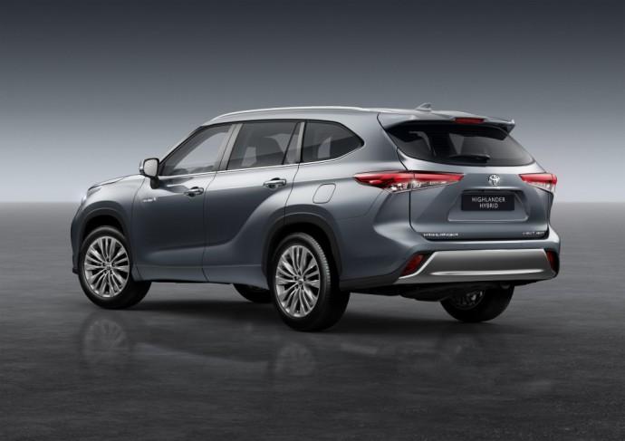 Europos rinkai skirtas Toyota Highlander