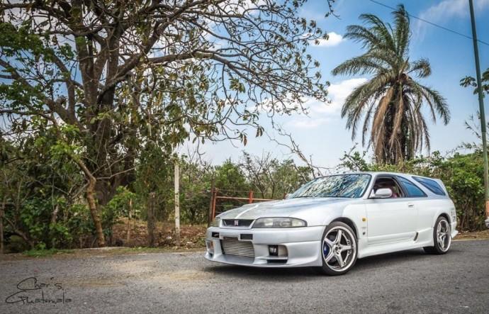 """Vienintelis pasaulyje – """"Nissan Skyline GT-R Shooting Brake"""""""