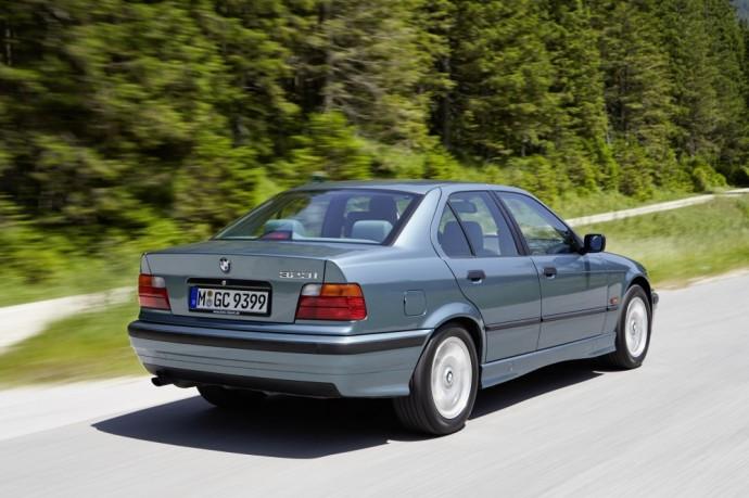 E36 kartos BMW 3 serija
