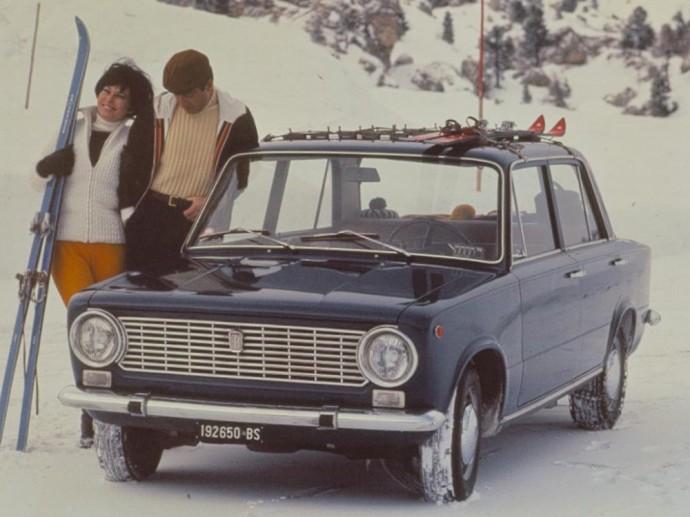 Fiat 124 sedanas
